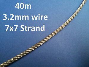 40M-316-GRADE-STAINLESS-STEEL-WIRE-ROPE-BALUSTRADE-RAIL-DECKING-MARINE-ROPE