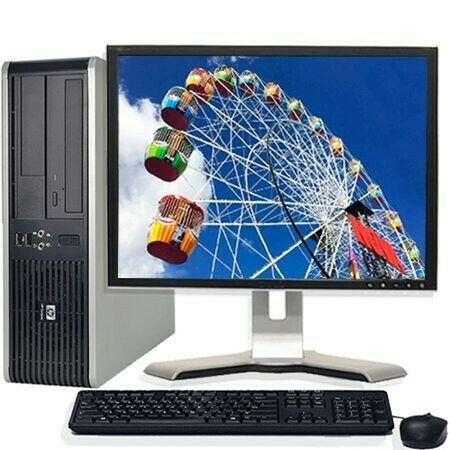 """HP Computer comes with comes with:-Intel Core2duo2.30ghz2GB RAM160 gig Hard Drive17"""" LCD Mon"""