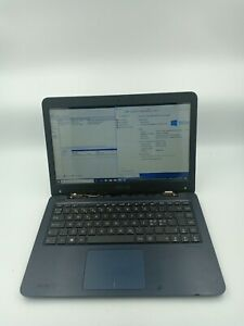 Asus-VivoBook-R417W-32GB-eMMC-Missing-hinge-cover-AS-IS-For-Repair-ONLY