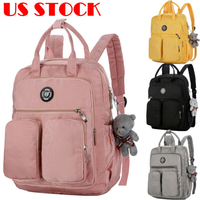 Backpack Women Canvas Travel Bookbags School Bags For Age S Cute Gw