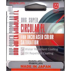 Marumi 49mm 49 Super DHG MC CPL PL.D Slim Thin Filter Japan