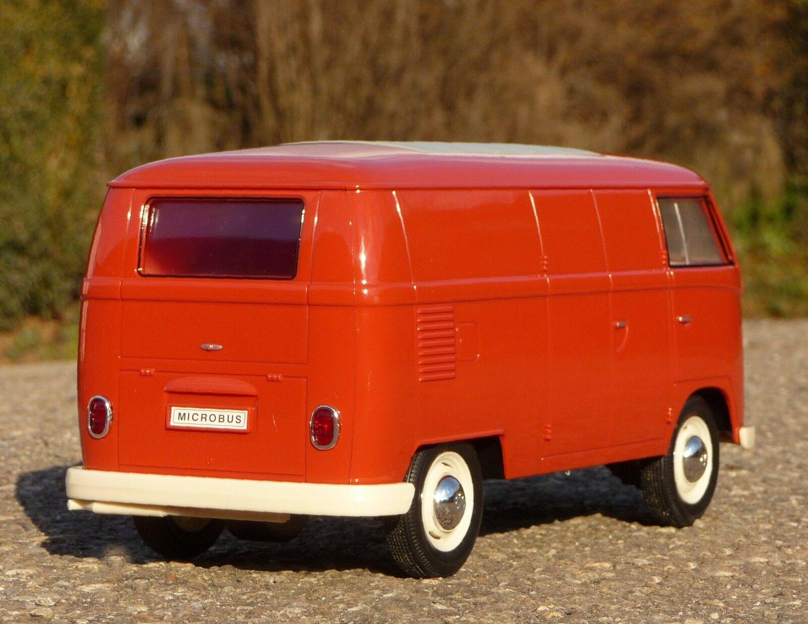 RC furgoneta VW t1 Transporter con luz longitud 26cm por control remoto 27mhz 405085