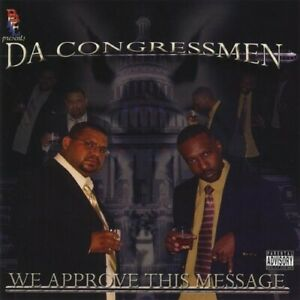Da Congressmen - We Approve This Message [New CD] Duplicated CD