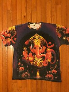 Tattoo brand shirt with elephant size large