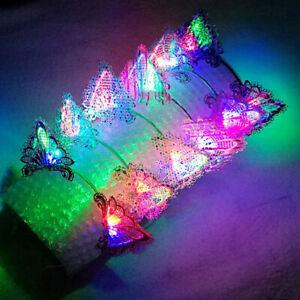 Charm-LED-Light-Up-Cat-Ears-Lace-Hair-Hoop-Headband-Headwear-Party-Supplies-Prec