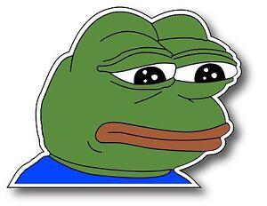 1 Pepe The Frog Meme Vinyl Stickr Jam Parody App Car Window Decal