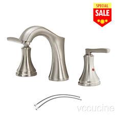 Satin Nickel Bathroom Sink Faucet Faucets New KB1609PL