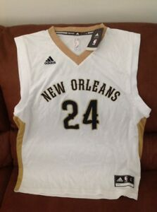 online store 802f6 ba9c3 Details about Adidas new Orleans pelicans buddy hield #24 nba jersey NWT  size L mens
