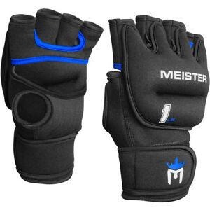 1LB-MEISTER-WEIGHTED-WORKOUT-GLOVES-BLACK-Heavy-Hands-Boxing-Cardio-Turbo-Jam