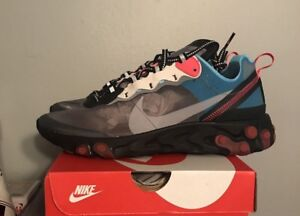 6660742ae5ef Nike React Element 87 Solar Red 4-13 Black Cool Grey Blue Chill ...