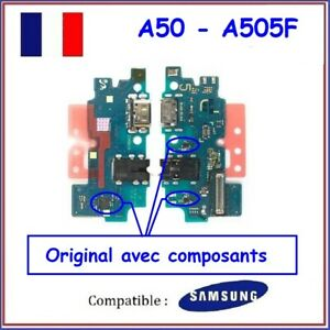 NAPPE CONNECTEUR DE CHARGE + MICRO + JACK SAMSUNG GALAXY A50 A505F - NEUF