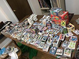 HUGE-Baseball-Card-Lot-5000-Cards-Babe-Ruth-Nolan-Ryan-Ken-Griffey-Jr