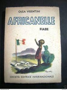 Libri-Ragazzi-O-Visentini-Africanelle-Fiabe-1944-Illustrazioni-Sgrilli