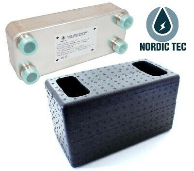 Initiative Plattenwärmetauscher Nordic 125-450kw Dämmschale Isolierung Wandbefestigung Clear-Cut-Textur