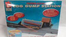 LIFE-LIKE #433-8308 - HO OPERATING LOG DUMP STATION - NIB
