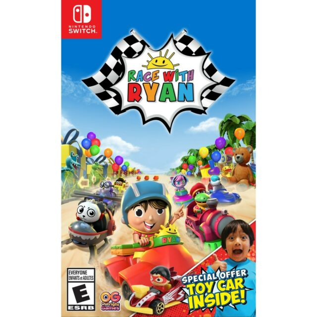 🎁 NINTENDO SWITCH RACE WITH RYAN BRAND NEW SEALED ⚡Fast Shipping