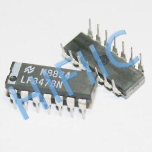 Wide Bandwidth JFET Input Operational Amplifier 1PCS MC34084P High Slew Rate