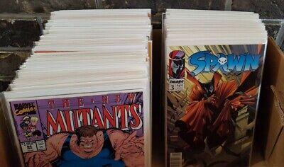 etc Comics box lot FREE SHIPPING! Avengers 50 MARVEL COMIC BOOKS Spiderman