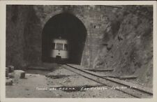RAILWAYS TUNEL DEL F.C.C.N.A. SIERRAS DE CORDOBA FOTO ROA 342 REAL PHOTO