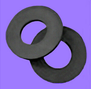 GRAY FIBER WASHER, M3, THICK, COUPLER MOUNT, QTY 48