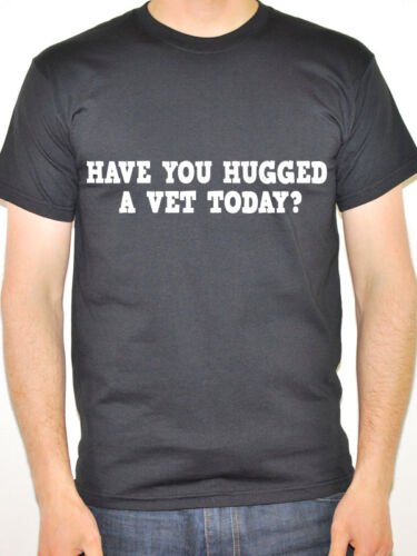 VET HAVE YOU HUGGED Funny Vet T-Shirt Funny Veterinary Gift Idea Present