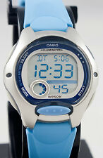 Casio LW200-2BV Ladies Light Blue Digital Watch LED Light Sports Brand New