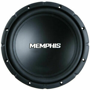 "MEMPHIS AUDIO SRX1040 STREET REFERENCE-SERIES 10"" 400W SVC 4-OHM CAR SUBWOOFER"