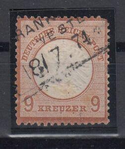 X2214-GERMANY-REICH-MI-27-USED-CV-605
