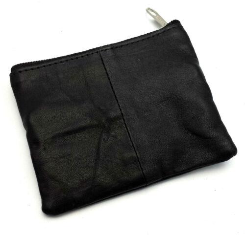 Nouveau Homme Femme Femmes portefeuille en cuir véritable fermeture à glissière porte-clé Slim détenteur de carte de voyage