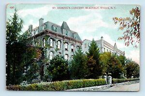 Nyack-NY-EARLY-1900s-POSTCARD-ST-DOMINICS-CONVENT-BLAUVELT-A1
