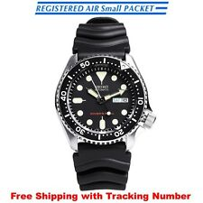 SEIKO SKX007K1 SKX007KC Automatic Diver Scuba 200m Black Men's Watch from Japan