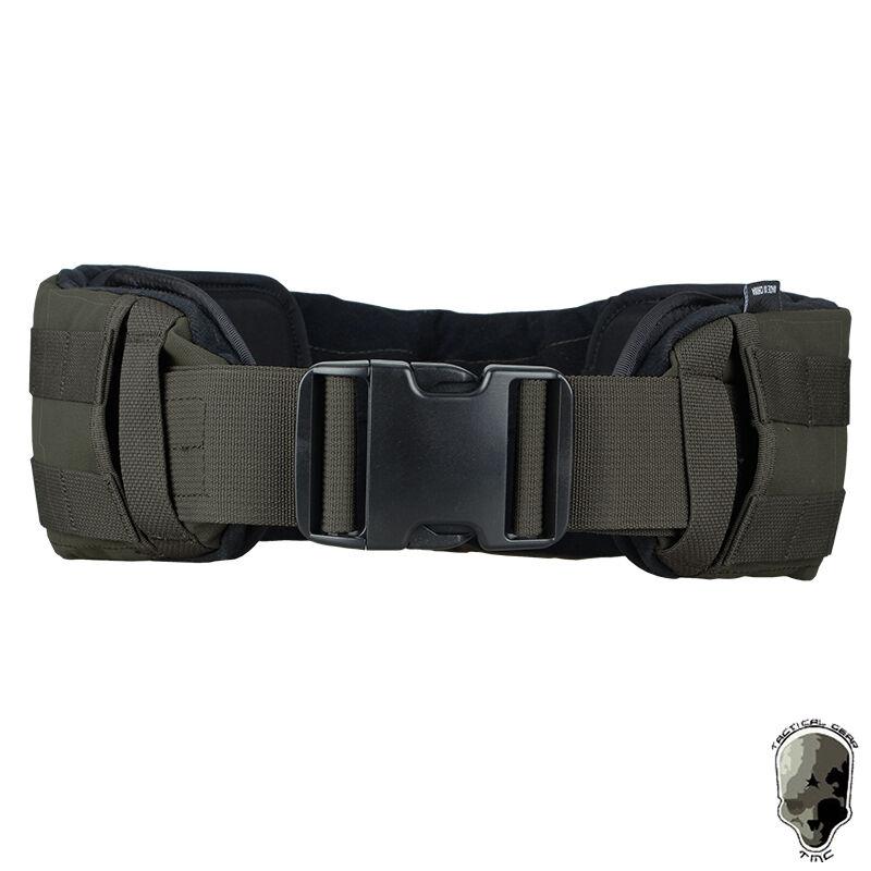 TMC Tactical Belt Low Profile Waist Belt Molle Pad Paintball Airsoft Gear Duty