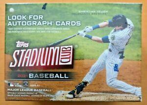 2021 Topps Stadium Club Baseball Card Blaster Box MLB Factory Sealed Ships ASAP