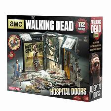 Atlanta Hospital Door Türe The Walking Dead Building Set TV MBS 14524 McFarlane