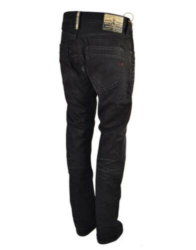 RPJN001 Regolare Slim Fit Jeans Neri Replay Moresk