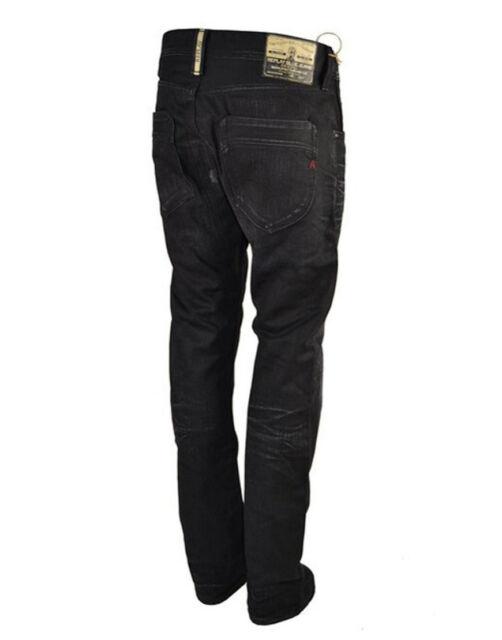 Regular Slim Fit Jeans Black MASSIVE REDUCTIONS Replay Moresk RPJN001