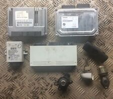 Genuine BMW E46 318ci N42 Complete Ecu And Lock Set With Remote Locking 7513965