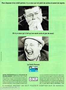 Publicité advertising 1997 Banque BNP avec Jeanne Moreau