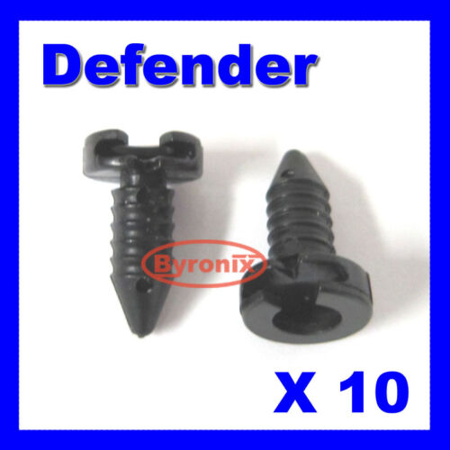 LAND ROVER DEFENDER DOOR PANEL TRIM CLIPS  MXC1800 INTERIOR X10