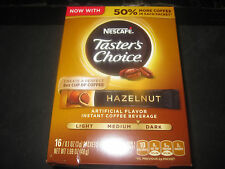 Nescafe Taster's Choice Hazelnut 16 Packet Box 3g Packets