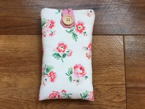 Needle Book//Needle Case Blue Ashdown Rose Rosali pink spot handmade sewing