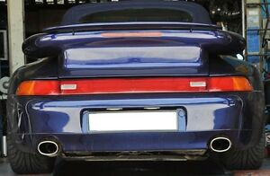 Porsche-911-964-993-Exhaust-tips-set-Stainless-Polished-New