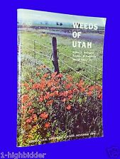 1971 Weeds of Utah USU Agricultural Experiment Station USU Marijuana A. Holmgren
