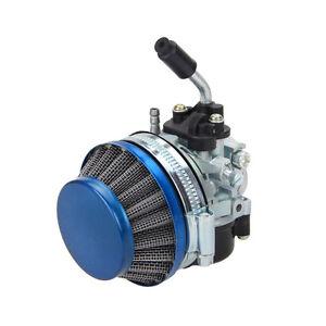 Carburetor-Racing-Carb-Blue-Air-Filter-For-Motorized-Bicycle-49-50-60-66-80cc