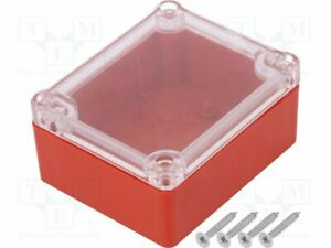 Carcasa-Universal-X-74mm-y-89mm-Z-41mm-ABS-Rojo-Junta-Z54PH-ABS-Red-Univ