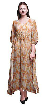 Dresses Td-64c Sale Price Nice Bimba Tie-dye Ladies Plus Size Kaftan Summer Wear Beach Coverup Kimono