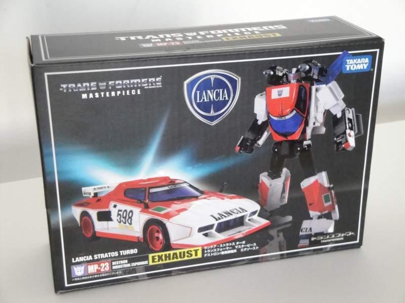 Takara Transformers Masterpiece MP23 Exhaust Lancia Stratos Turbo