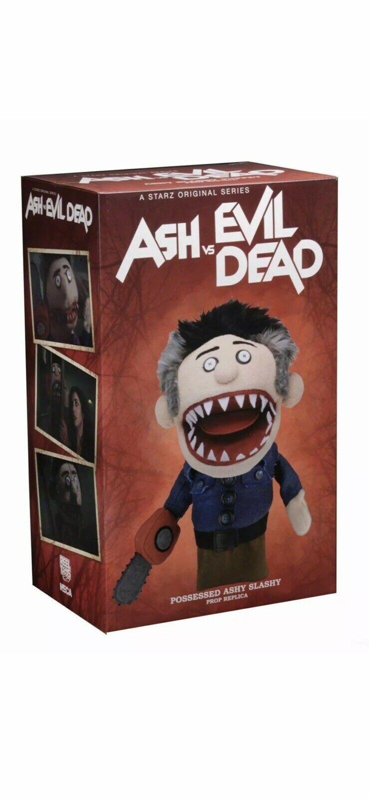 """Ash vs Evil Dead  Prop Replica Possessed """"Ashy Slashy"""" Puppet-NECA  -CASE FRESH-"""
