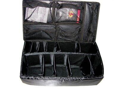 52fe1c5e48bcd New Black Padded Divider Set + Lid Organizer upgrade fits your Nanuk™ 935  case