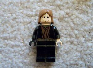 LEGO-Star-Wars-Super-Rare-Jedi-Anakin-Skywalker-Minifig-Excellent